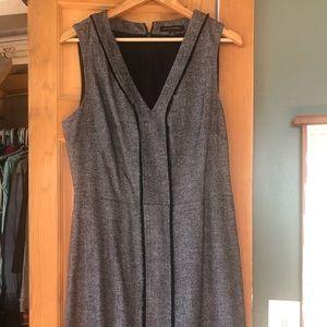 Short herringbone dress